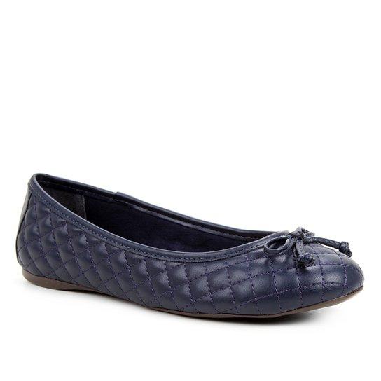 Sapatilha Shoestock Clássica Matelassê Feminina - Marinho
