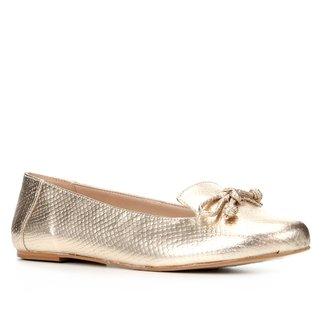 Sapatilha Shoestock Cobra Loafer Feminina