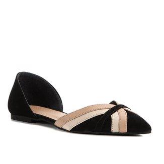 Sapatilha Shoestock Couro Summer Curves