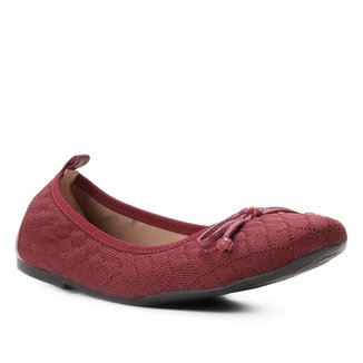 Sapatilha Shoestock For You Tricot Matelassê Feminina