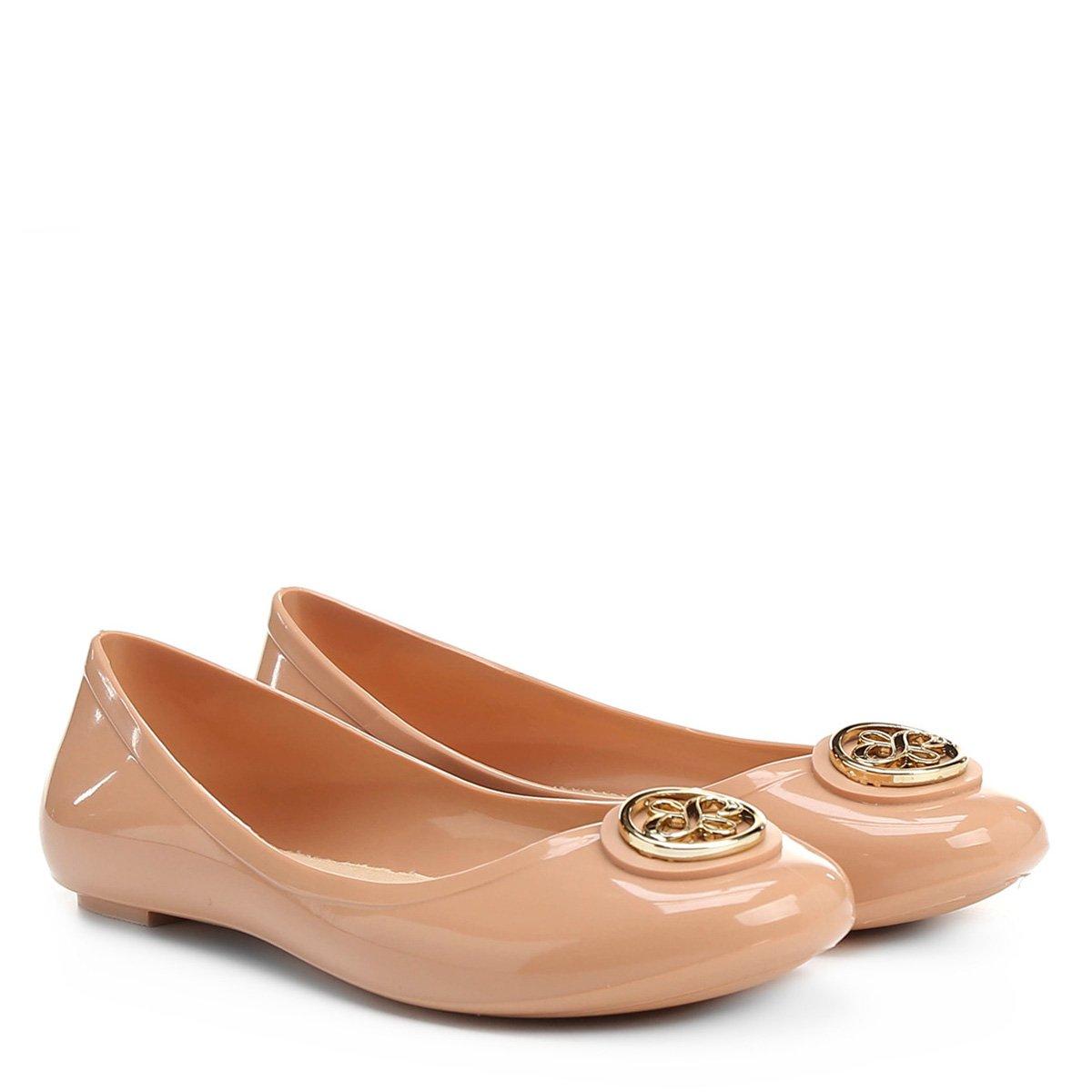 c04a7ef9bb Sapatilha Shoestock Injetada Medalha Infantil - Nude - Compre Agora ...