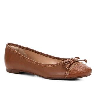 Sapatilha Shoestock Laço Trança Feminina