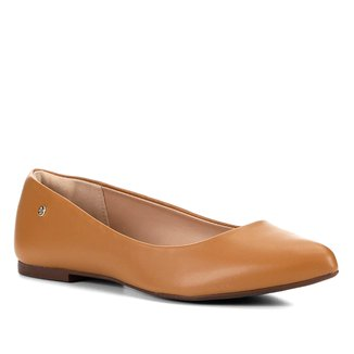 Sapatilha Shoestock Naked Bico Fino Feminina