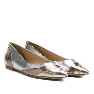 Sapatilha Shoestock Ondas Bico Fino