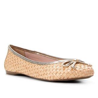 Sapatilha Shoestock Ráfia Laço Feminina