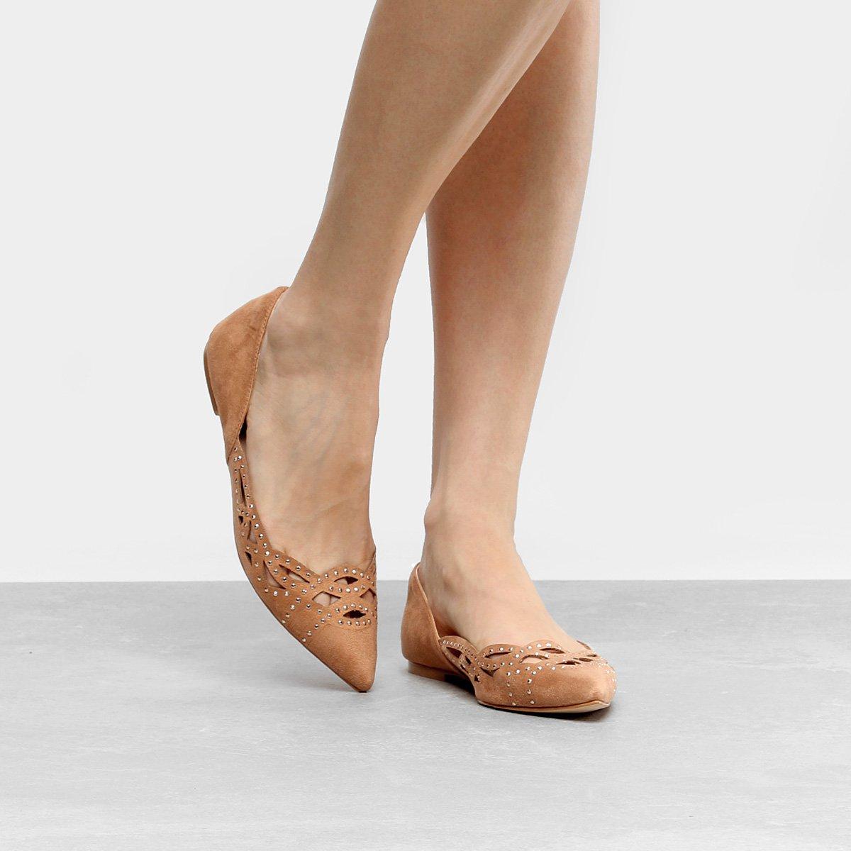 ce7e553e43 Sapatilha Shoestock Vazada Feminina - Compre Agora