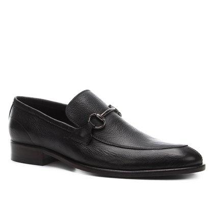 Sapato Casual Shoestock Couro Bridão Masculino