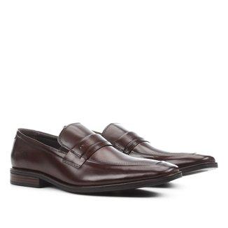 Sapato Social Couro Democrata Tompson