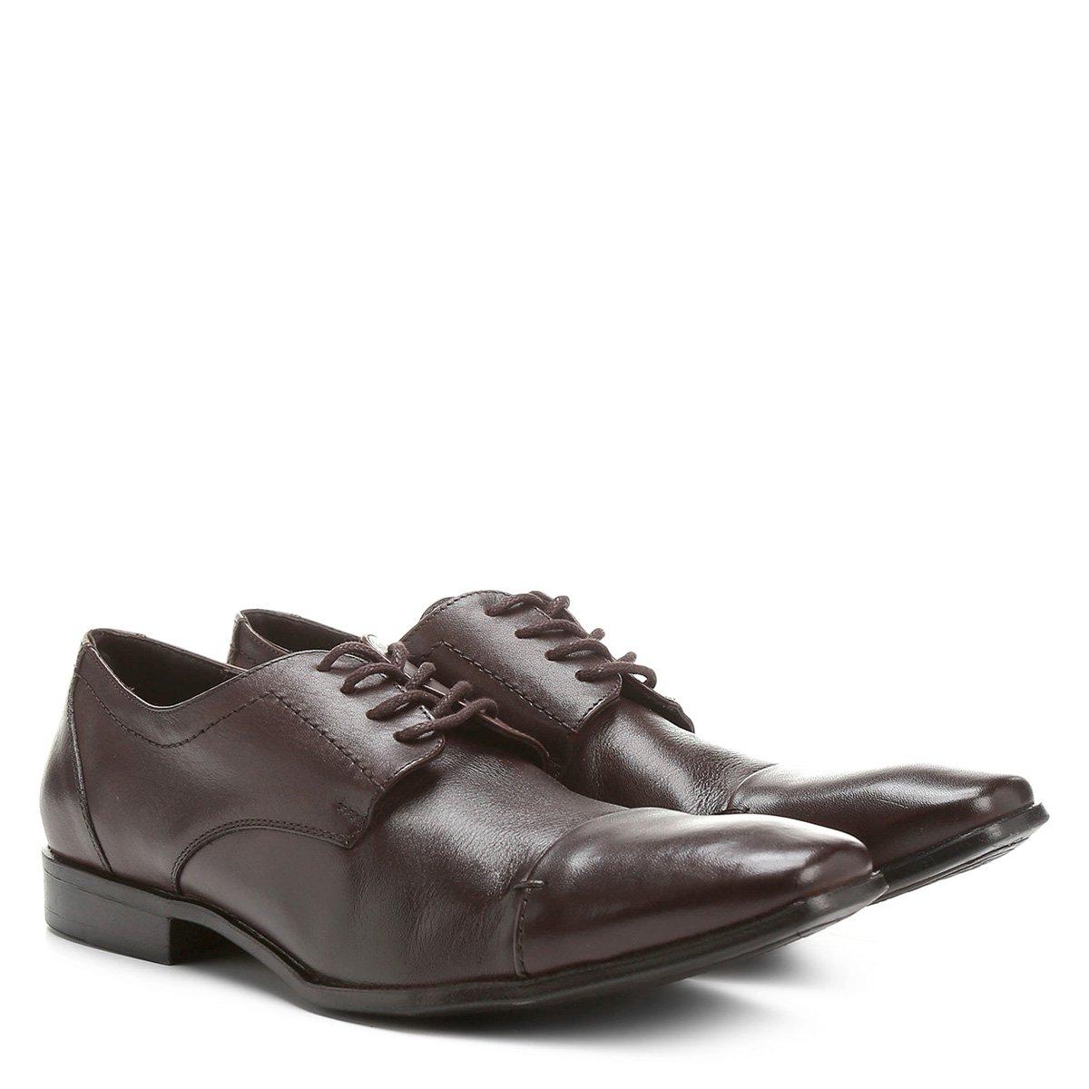 e958d8d7e2 Sapato Social Couro Shoestock Amarração