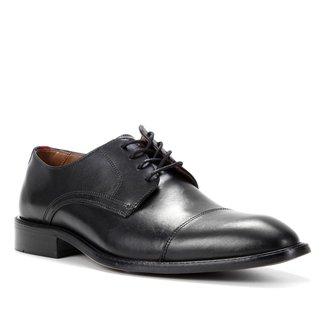 Sapato Social Couro Shoestock Bico Redondo Masculino