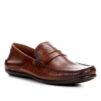 Sapato Social Couro Shoestock Casual Masculino
