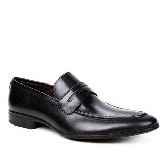 Sapato Social Couro Shoestock Lapela Masculino