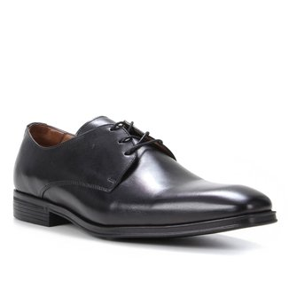 Sapato Social Couro Shoestock Liso Masculino