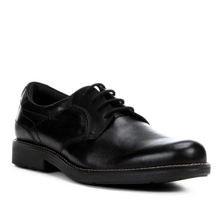 Sapato Social Couro Shoestock Pesponto Masculino