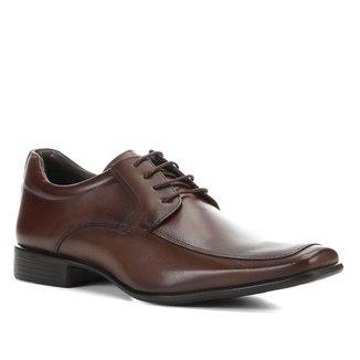 Sapato Social Shoestock Couro Amarrar Clássico