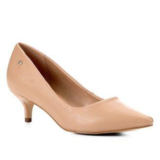 Scarpin Shoestock Salto Baixo Naked