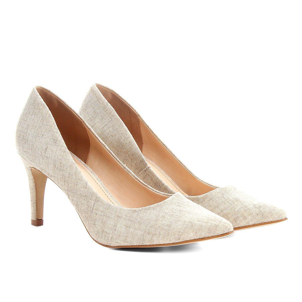 be068993a Scarpin Shoestock Salto Médio   Shoestock