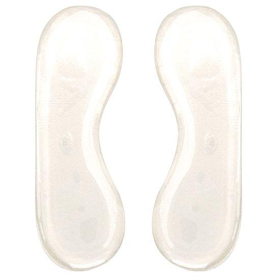 Segurança de Calcanhar Gel Shoestock - Incolor