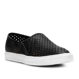 Slip On Shoestock Furinhos Feminino