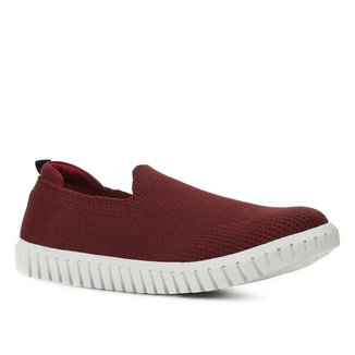 Slip On Shoestock Tricot Femininno