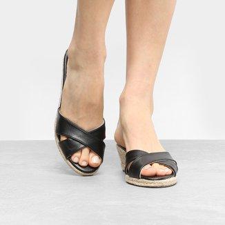 Tamanco Anabela Shoestock Corda