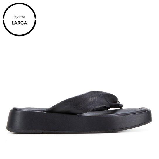 Tamanco Shoestock Flatform Comfy Color - Preto