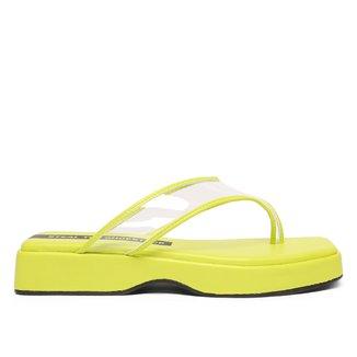 Tamanco Shoestock Flatform Vinil Color