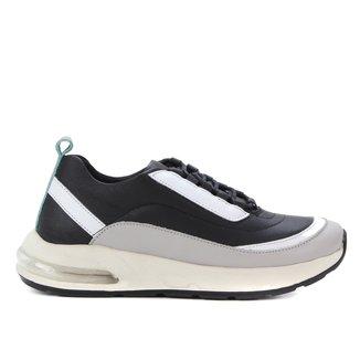 Tênis Couro Shoestock Air Feminino