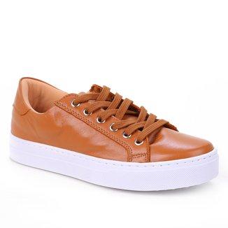 Tênis Couro Shoestock Básico Feminino