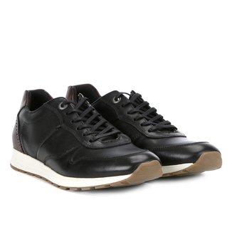 Tênis Couro Shoestock Brogues Masculino