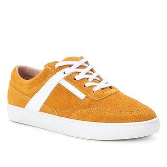 Tênis Couro Shoestock Camurça Color Feminino