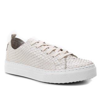 Tênis Couro Shoestock Cobra Feminino