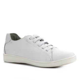 Tênis Couro Shoestock Comfort Elástico Feminino