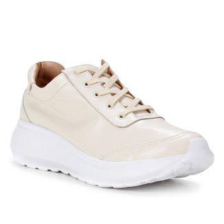 Tênis Couro Shoestock Comfy Soft Feminino