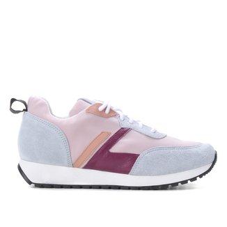Tênis Couro Shoestock Jogging Feminino