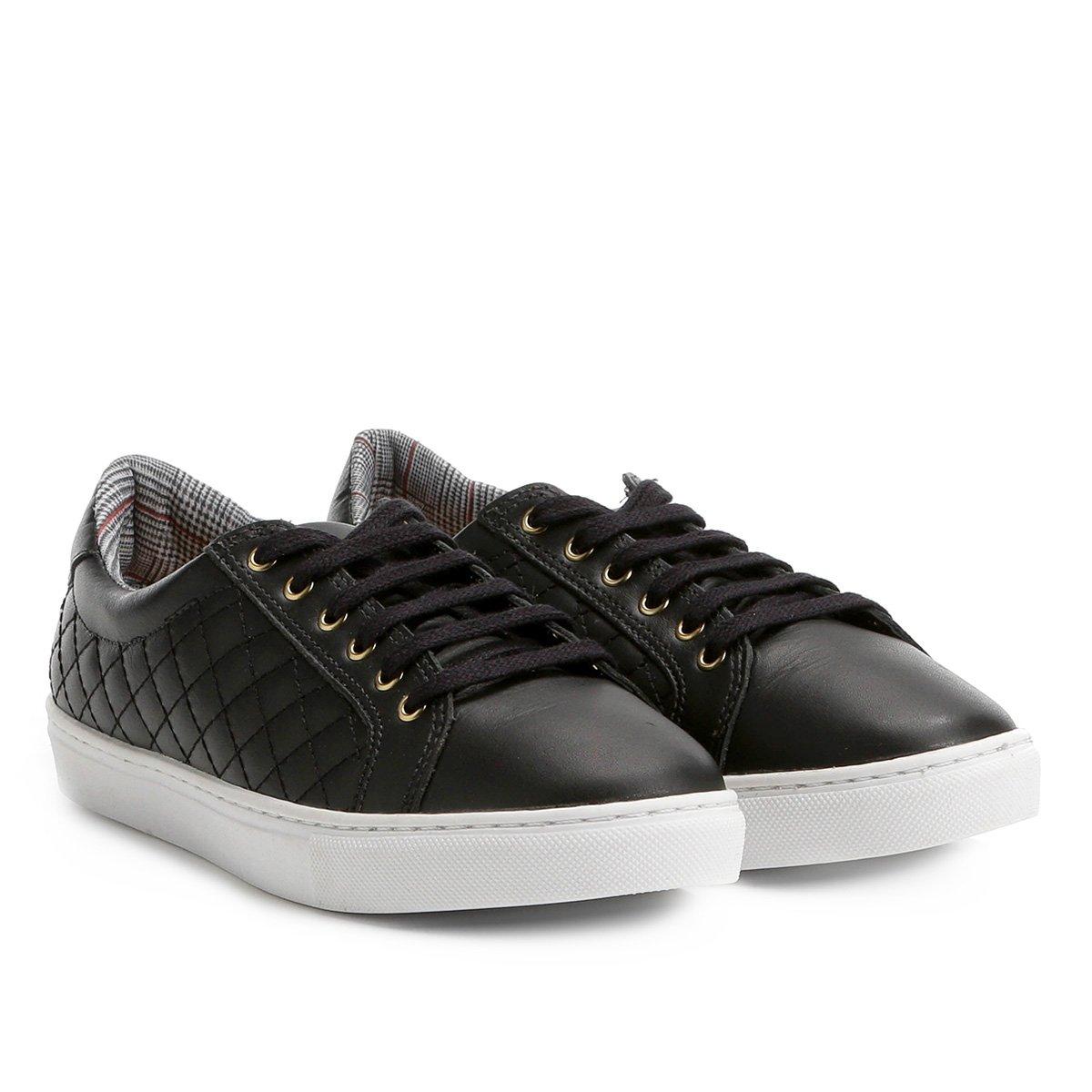 f2b426584 Tênis Couro Shoestock Matelassê Feminino - Compre Agora