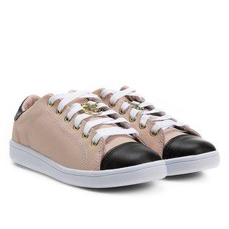 Tênis Couro Shoestock Medalha Feminino