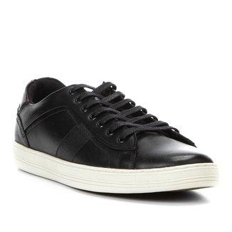 Tênis Couro Shoestock Recorte Masculino