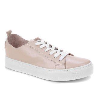 Tênis Couro Shoestock Sem Forro Feminino