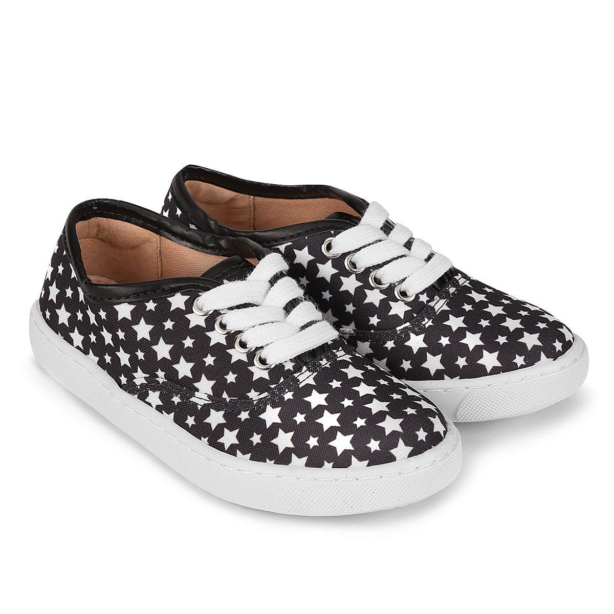 9e75a53b0 Tênis Infantil Shoestock com Glitter Feminino - Compre Agora