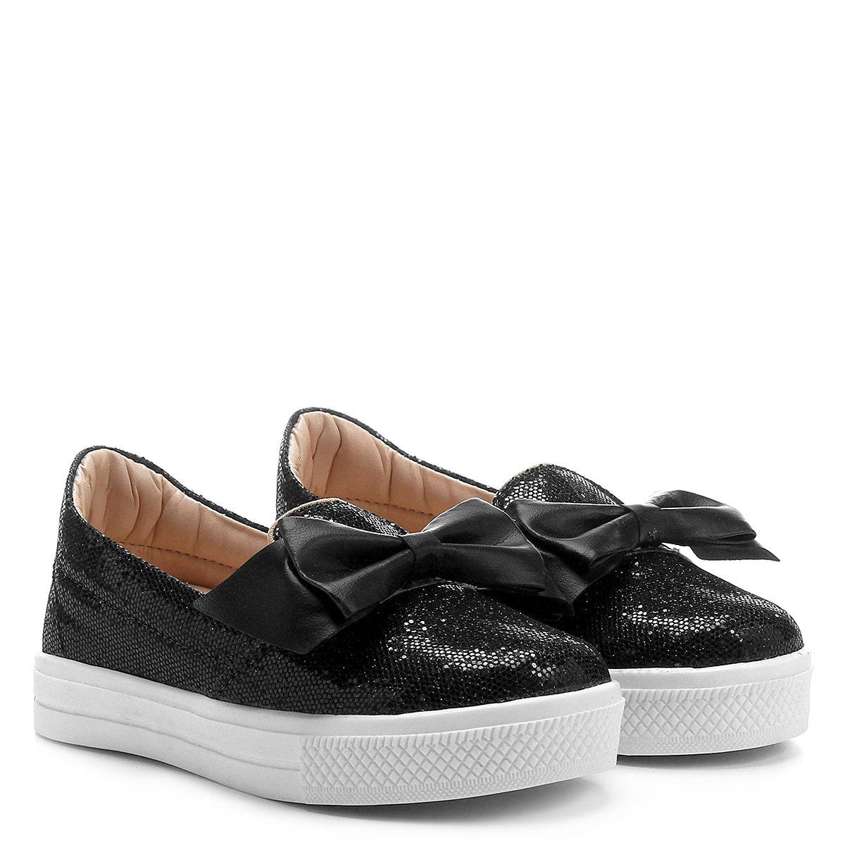 5dc243e0eaf Tênis Infantil Shoestock Glitter Feminina - Compre Agora
