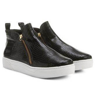 Tênis Shoestock Cano Alto Croco