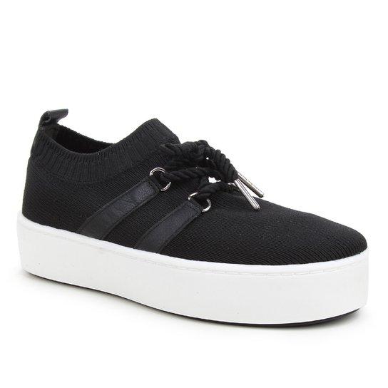 Tênis Shoestock Comfy Knit Feminino - Preto