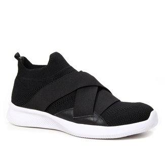Tênis Shoestock Comfy Tricot Elásticos
