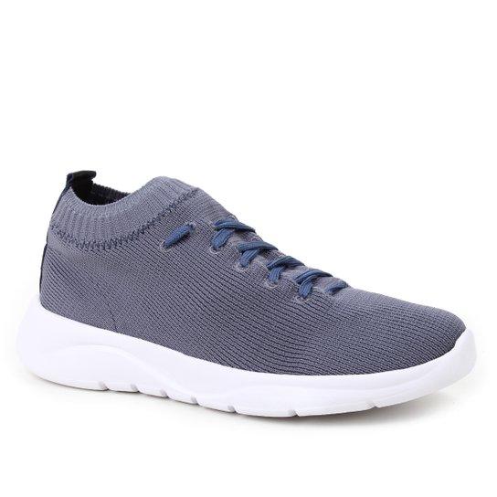 Tênis Shoestock Comfy Tricot Feminino - Azul Petróleo