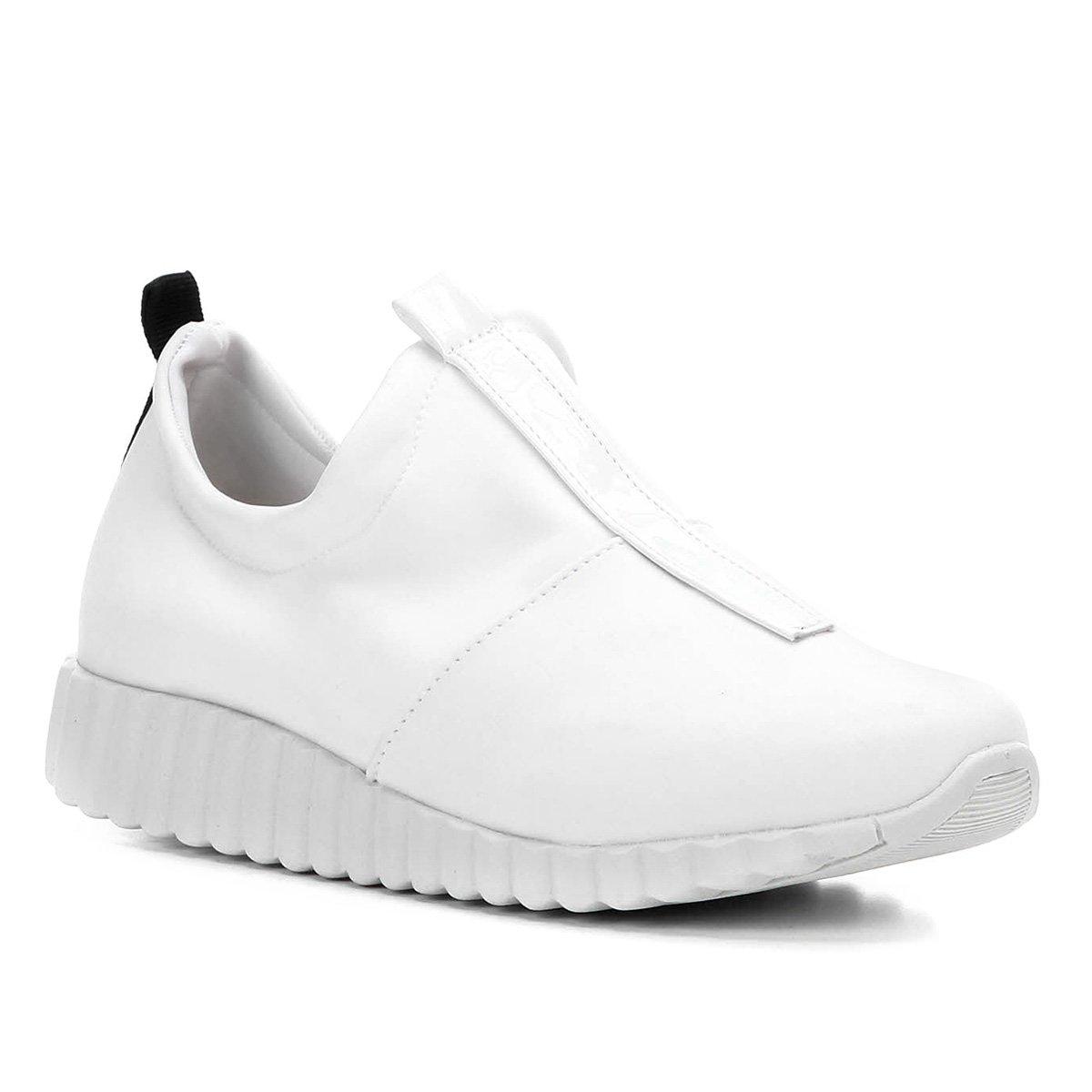 6a625bd731d Tênis Shoestock Meia Neoprene Feminino - Branco - Compre Agora ...